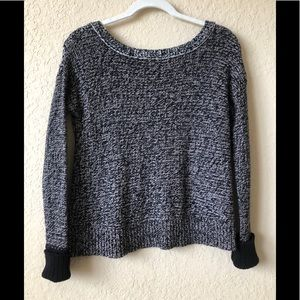 American Eagle Outfitters Black/White Sweater
